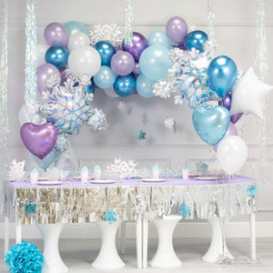 Frozen Themed Balloon Garland Kit