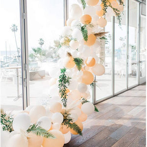 Peach and Cream Garland Balloon Kit