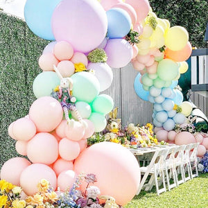 Rainbow Pastel Garland Balloon Kit