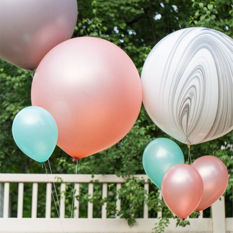 Rose Gold 3-Foot Giant Metallic Balloons