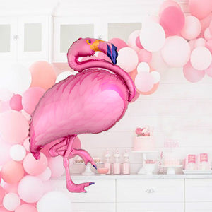 Pink 35-Inch Tropical Flamingo Bridal and Birthday Shower Party Balloons