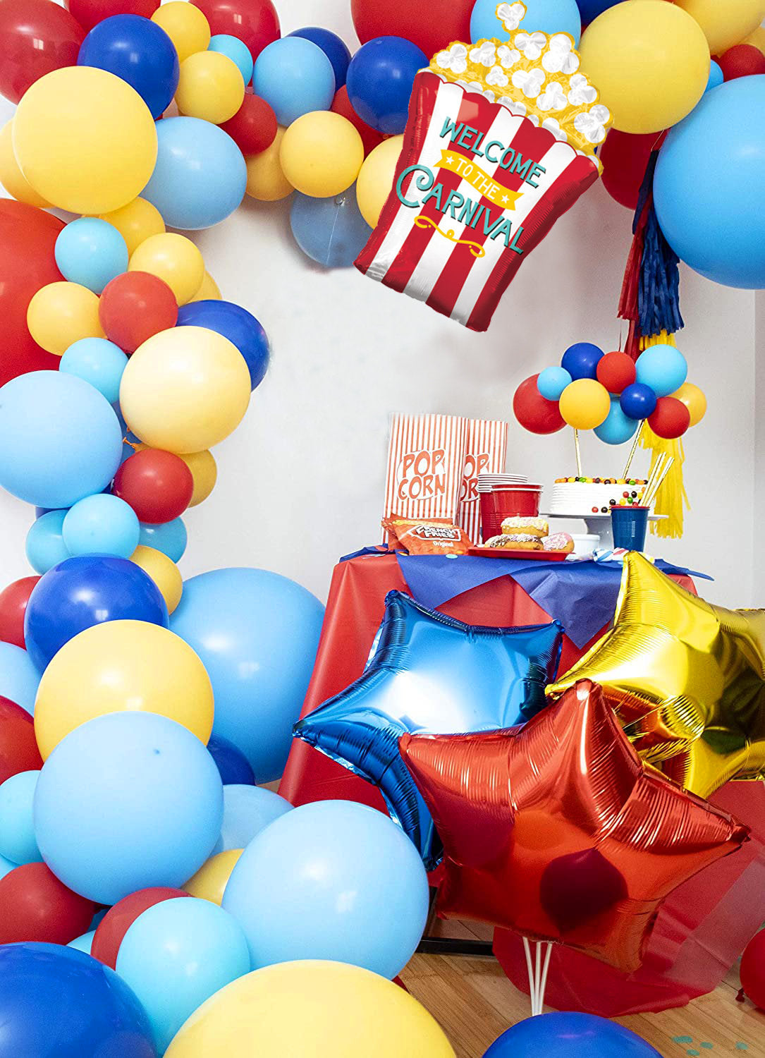 Circus Themed Balloon Garland Kit