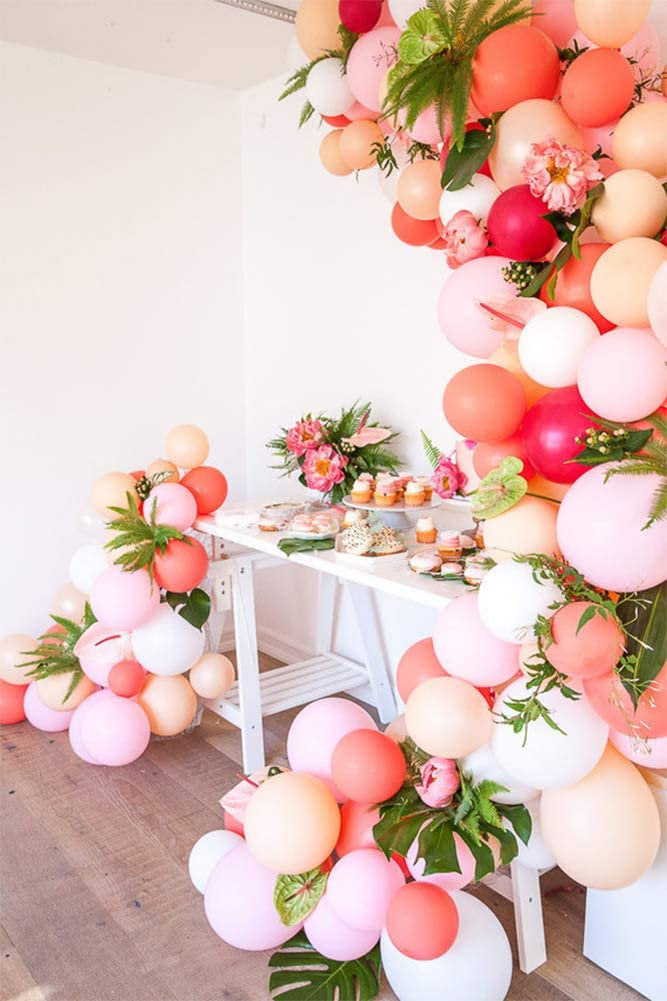 Tropical Pink Balloon Garland Kit