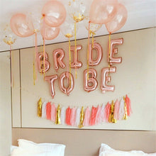 Rose Gold Bride to Be Balloon Set