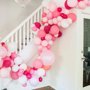 Pink Tropical Flamingo Balloon Garland Kit
