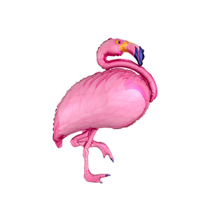 35-Inch Tropical Pink Flamingo Balloon