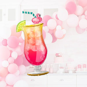 41-Inch Giant Tropical Cocktail Balloon