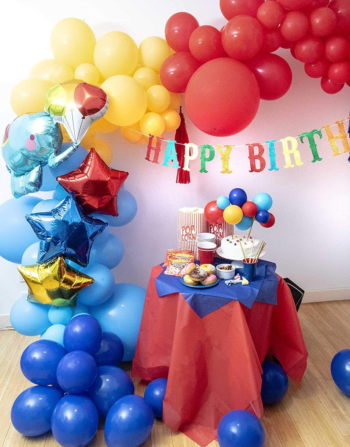 Circus Themed Garland Balloon Kit