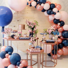 Navy & Pink Gender Reveal Garland Balloon Kit