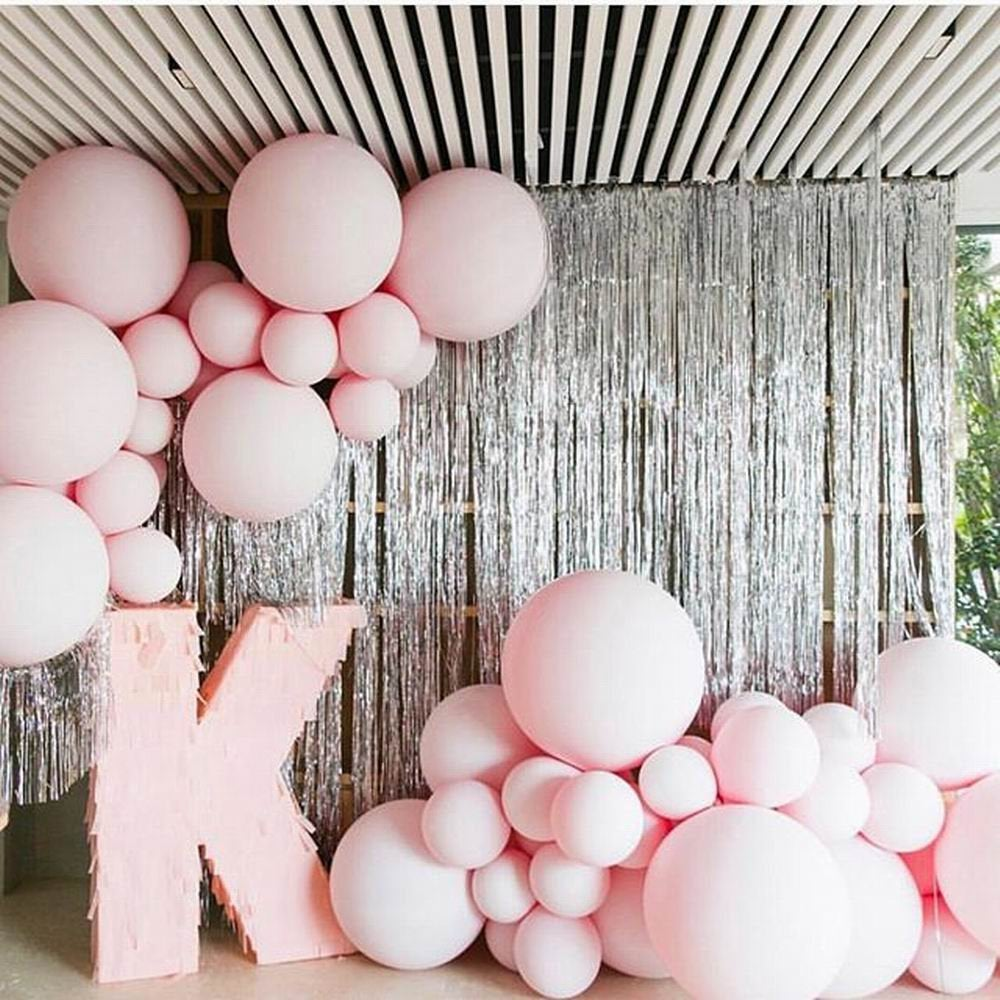 "Light Pink 36"" (3 foot) Giant Pink Pastel Balloons"