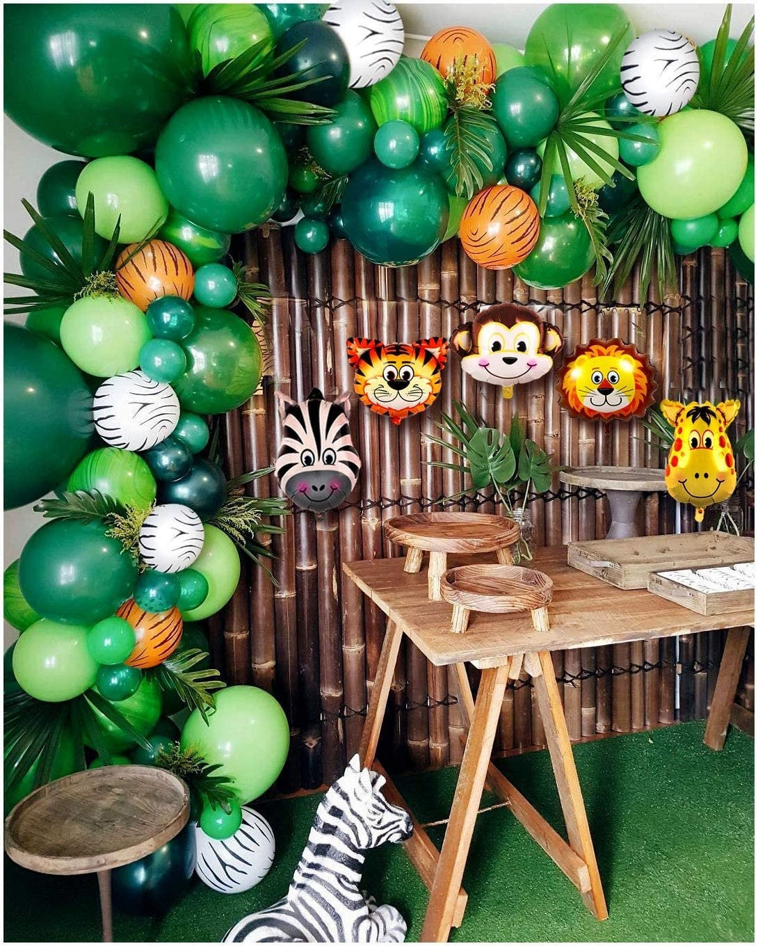 Jungle Garland Balloon Kit