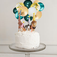 Safari Mini Balloon Cake Topper Kit