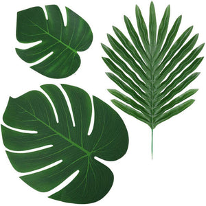 Greenery 10-Pack Tropical Leaves