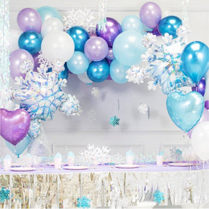 Frozen Themed Garland Balloon Kit