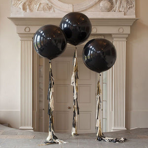"Black, Navy, Brown, Maroon 36"" Dark Extra Large Giant Balloons"