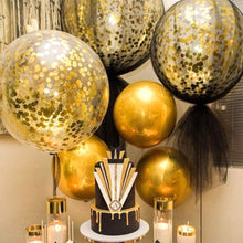(3-foot) Giant Metallic Gold Bridal Shower & Birthday Confetti Balloons