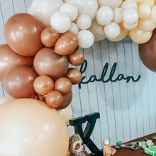 Boho Nudes Mocha & Blush Balloon Garland Kit