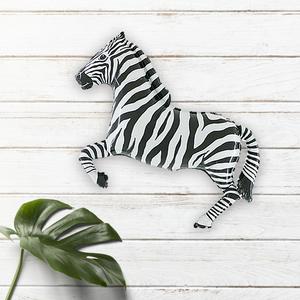 Zebra 43 Inch Safari Party Balloon