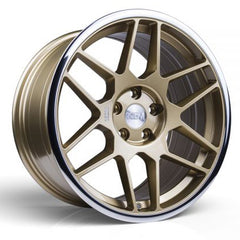 3SDM Wheels 0.09 Gold
