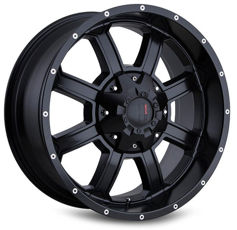 Havok Wheels H101 Matte Black