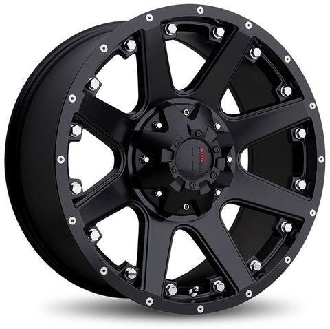 Havok Wheels H102 Matte Black