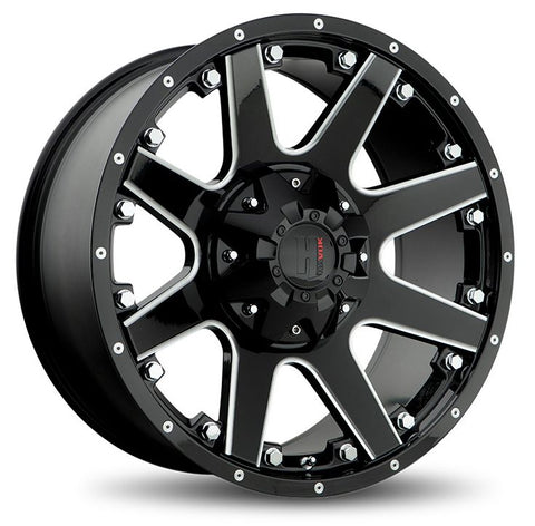 Havok Wheels H102 Black Milled