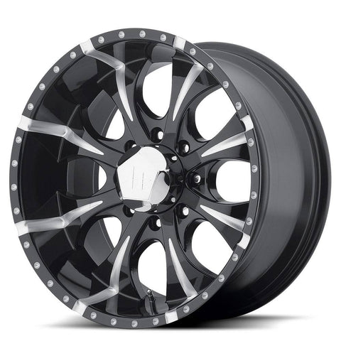 HELO Wheels HE791 Maxx 8H Black Milled