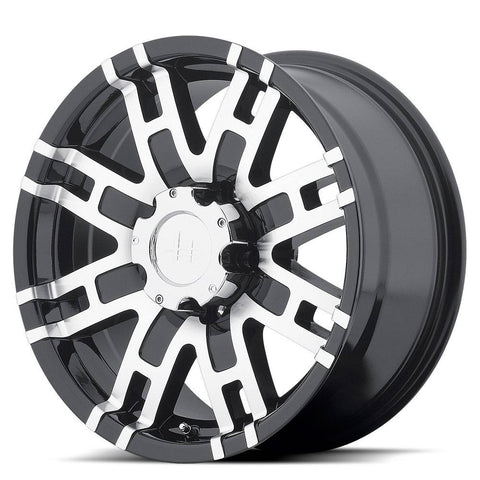 HELO Wheels HE835 Gloss Black Machine