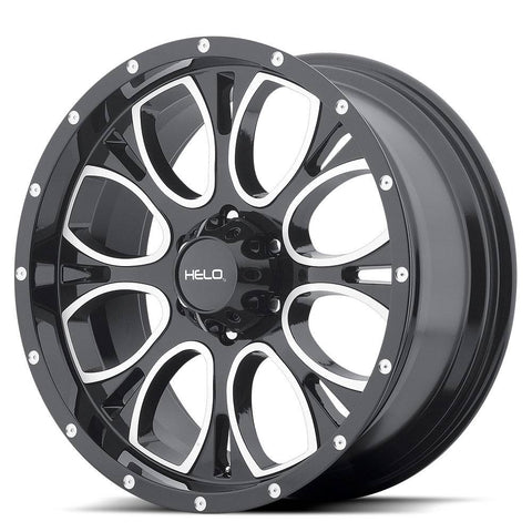 HELO Wheels HE879 Black Machine Milled