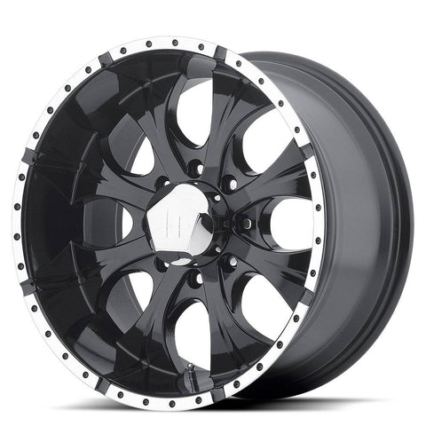 HELO Wheels HE791 Maxx 8H Gloss Black Machine