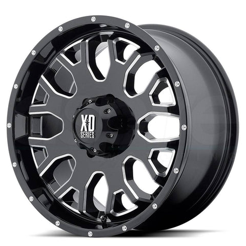 XD Wheels XD808 Menace Black Milled