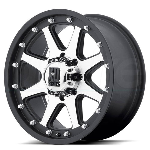XD Wheels XD798 Addict Black Machine