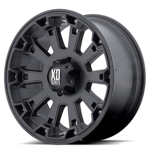 XD Wheels XD800 Misfit Matte Black