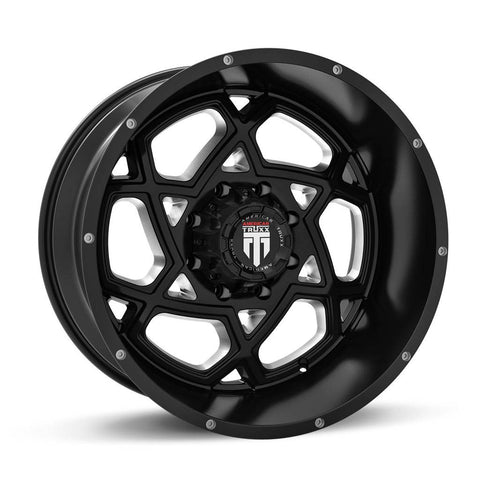 Truxx Wheels AT164 Black Milled