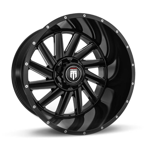 Truxx Wheels AT166 Black Milled