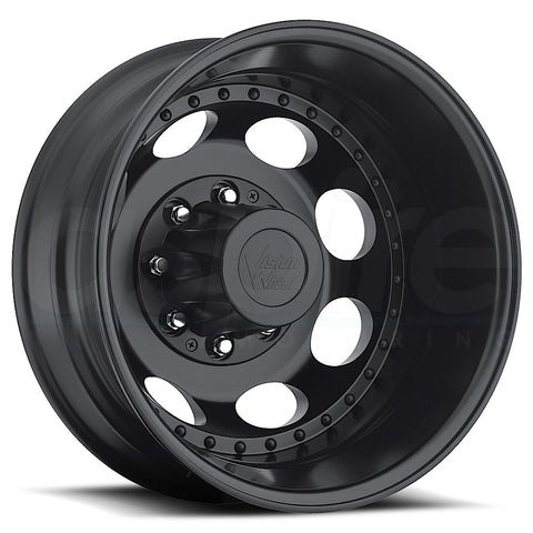 Vision HD Wheels 181 Hauler Duallie Matte Black Rear