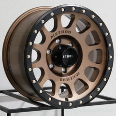 Method Wheels MR305 NV Bronze Black Ring
