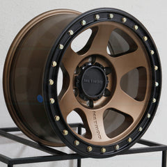 Method Wheels MR310 Con6 Bronze Black Ring