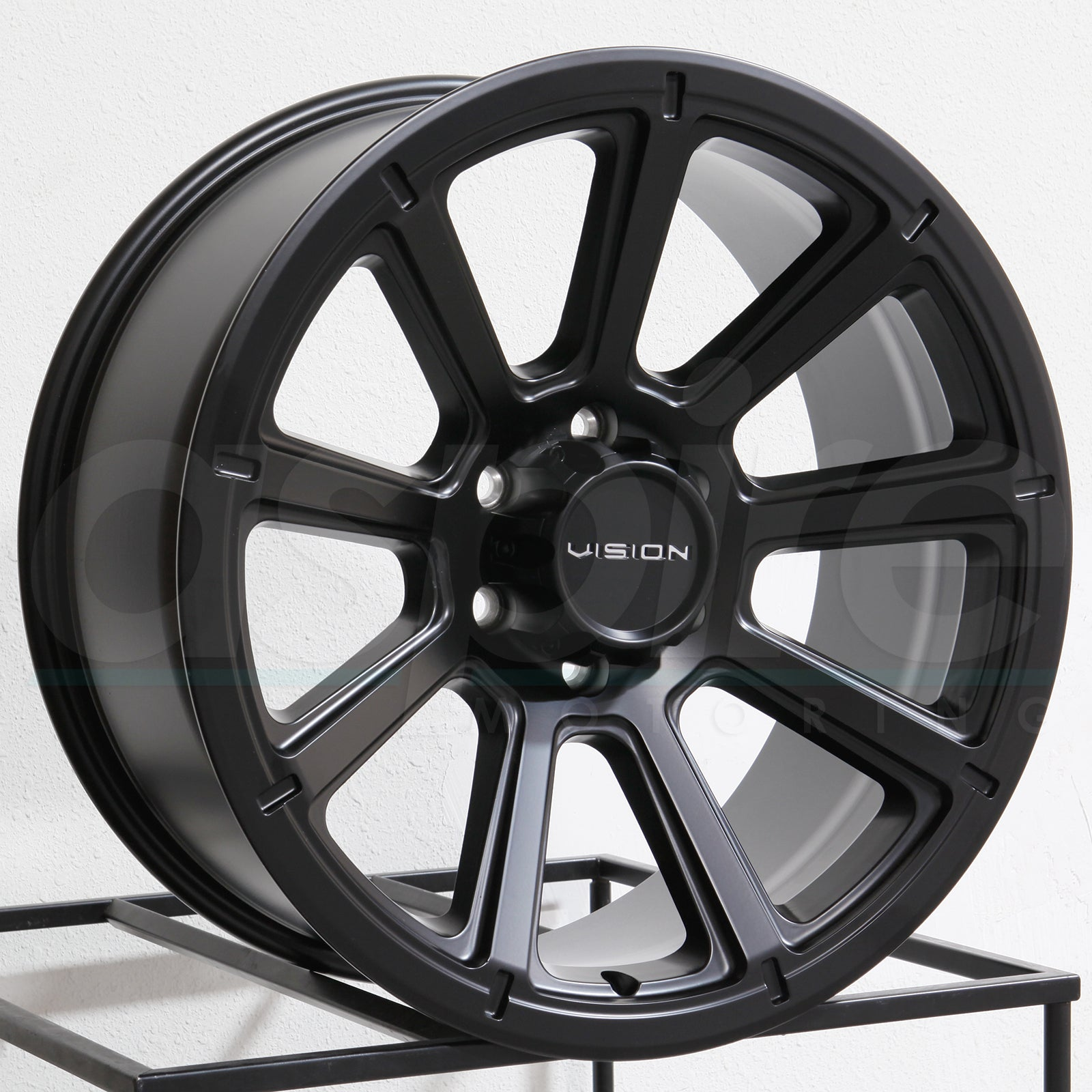 Vision Wheels 353 Turbine Matte Black