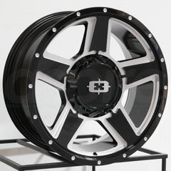 Vision Wheels 390 Empire Black Milled