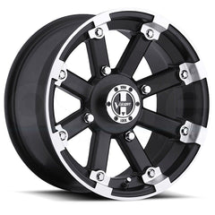 Vision ATV Wheels 393 Lockout Black Machined