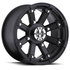 Vision ATV Wheels 393 Lockout Matte Black