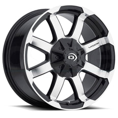 Vision Wheels 413 Valor Black Machined