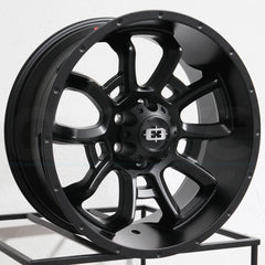 Vision Wheels 415 Bomb Satin Black