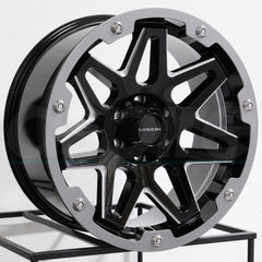 Vision Wheels 416 Se7En Black Milled