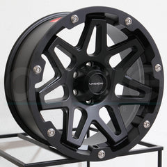 Vision Wheels 416 Se7En Satin Black