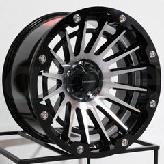 Vision Wheels 417 Creep Black Machined