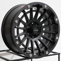 Vision Wheels 417 Creep Satin Black