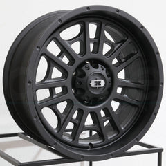 Vision Wheels 418 Widow Satin Black