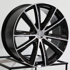 Milanni Wheels 471 Splinter Black Machined